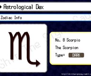 scorpio, signs, and zodiac image