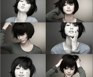 asian and faces image