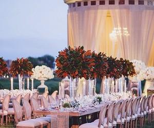 wedding, decor, and flowers image