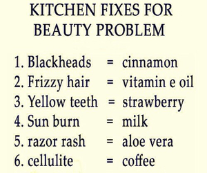 beauty, diy, and tips image