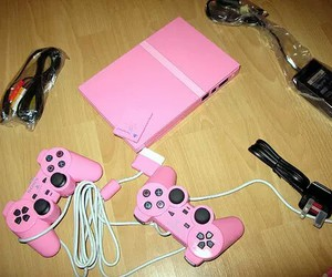 pink and PS2 image