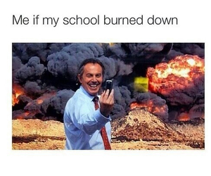 funny, school, and selfie image