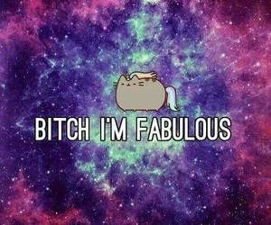 bitch, fabulous, and cat image