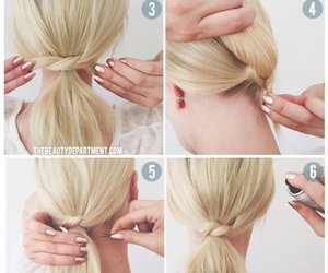 blond, diy, and girl image