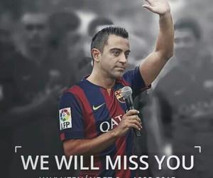 Barcelona, football, and xavi hernandez image
