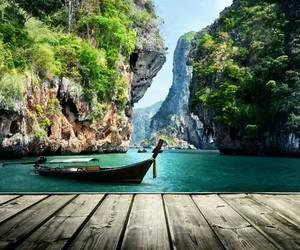 summer, travel, and bora bora image