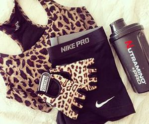 fashion, fitness, and nike image