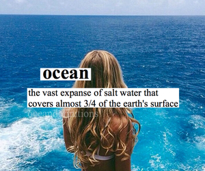 definition, ocean, and tumblr image