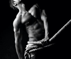 men, muscle, and rope image