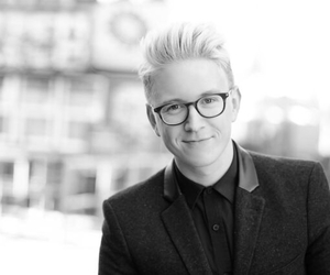 black and white, tyler oakley, and youtubers image