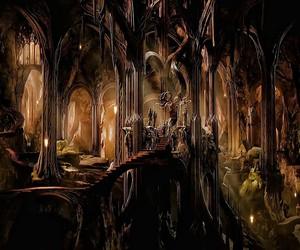 the hobbit, the desolation of smaug, and mirkwood image