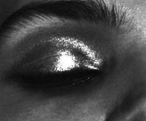 eye, girl, and model image