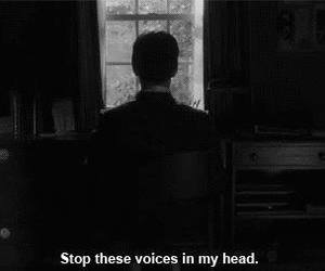 voice, depression, and quote image