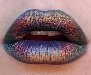 lips, lipstick, and makeup image