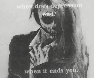 dark, end, and girl image