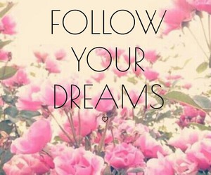 dreams, flowers, and follow image