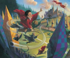 harry potter, book, and quidditch image