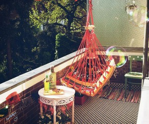 bubble, chill, and garden image