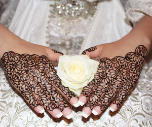 henna, nails, and moroccan image