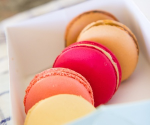 food, macaron, and photography image