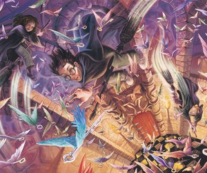 harry potter and book image