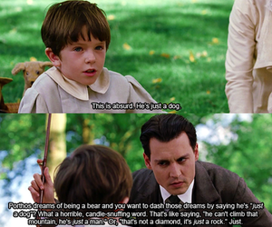finding neverland and johnny deep image