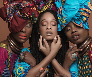 african women, africa, and African image