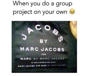 funny, marc jacobs, and group image