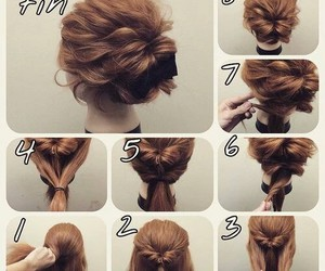 beautiful, hair, and tutorials image