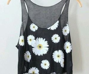 clothes, daisy, and fashion image