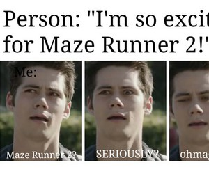 maze runner and dylan o'brien image