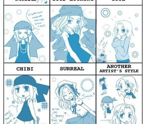 anime girl, chibi, and girl image