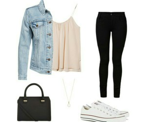 chucks, fashion, and outfit image