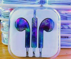galaxy, headphone, and swag image