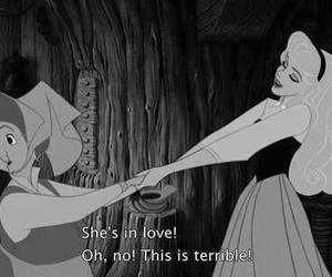 love, disney, and terrible image