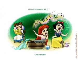 disney and pocket princesses image