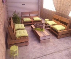 pallets sofa, pallets sofa ideas, and pallets sofa designs image