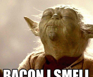 bacon, funny, and star wars image