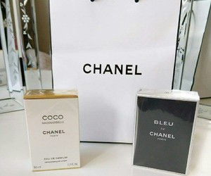blue, chanel, and coco chanel image