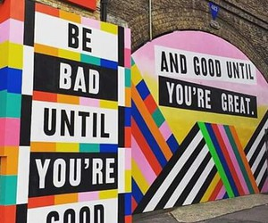 art, bad, and good image