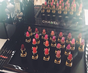 chanel, colorful, and lipstick image