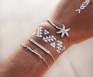 tattoo, summer, and accessories image