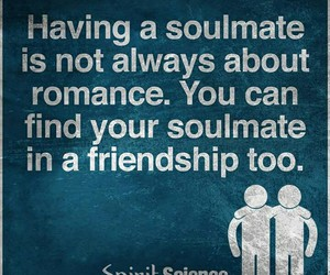 soulmate and friendship image