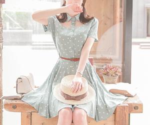 dress, korean fashion, and ulzzang image