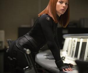 black widow, Scarlett Johansson, and natasha romanoff image