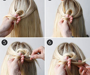 hair style, diy, and do it yourself image