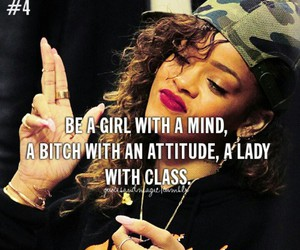 rihanna, lady, and quotes image