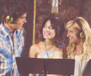 ashley tisdale, vanessa hudgens, and zac efron image