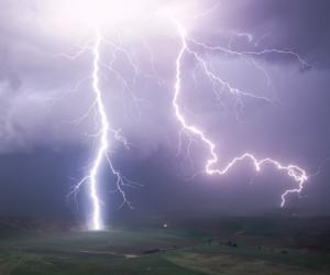aesthetic, grunge, and lightning image