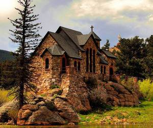 church, rock, and colorado image